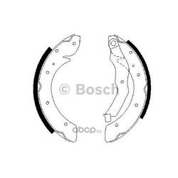 Комплект тормозных колодок (Bosch) 0986487528
