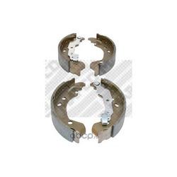 Комплект тормозных колодок (Mapco) 8141