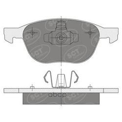 Колодки торм.FR (SCT) SP358