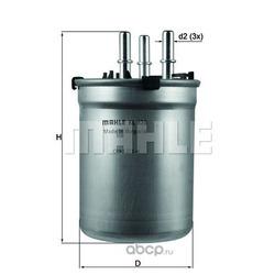 Топливный фильтр (Mahle/Knecht) KL838