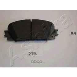 Комплект тормозных колодок, дисковый тормоз (Ashika) 5002219