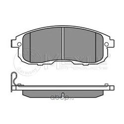 Комплект тормозных колодок, дисковый тормоз (Meyle) 0252428016W