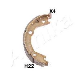 Комплект тормозных колодок (Ashika) 550HH22