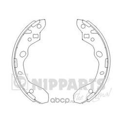 Комплект тормозных колодок (Nipparts) J3503037