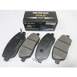 Колодки тормозные дисковые передние к-т (HSB) HP1042