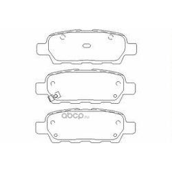 Колодки тормозные дисковые TEXTAR (Textar) 2387101
