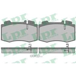 Комплект тормозных колодок, дисковый тормоз (Lpr) 05P849