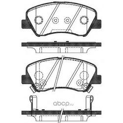 Комплект тормозных колодок, дисковый тормоз (Road house) 2148802