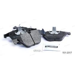 Тормозные колодки дисковые передние (Ween) 1512317