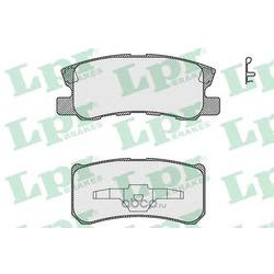 Комплект тормозных колодок, дисковый тормоз (Lpr) 05P1639