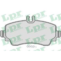 Комплект тормозных колодок, дисковый тормоз (Lpr) 05P670
