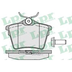 Комплект тормозных колодок, дисковый тормоз (Lpr) 05P1195