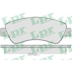 Комплект тормозных колодок, дисковый тормоз (Lpr) 05P789