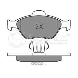 Комплект тормозных колодок, дисковый тормоз (Meyle) 0252360418
