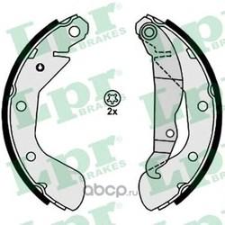 Комплект тормозных колодок (Lpr) 08120