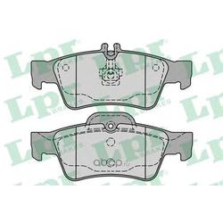Комплект тормозных колодок, дисковый тормоз (Lpr) 05P1232