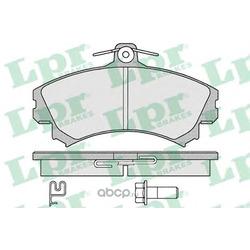 Комплект тормозных колодок, дисковый тормоз (Lpr) 05P1221