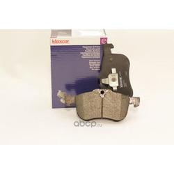 Комплект тормозных колодок, дисковый тормоз (Klaxcar) 24137Z
