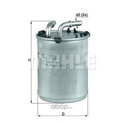 Топливный фильтр (Mahle/Knecht) KL778