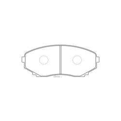 Колодки тормозные дисковые (FIT) FP0551