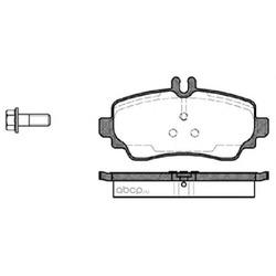 Комплект тормозных колодок, дисковый тормоз (Remsa) 065000