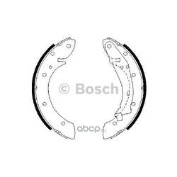 Колодки тормозные барабанные, комплект (Bosch) 0986487552