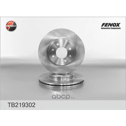 ДИСК ТОРМОЗНОЙ FENOX (FENOX) TB219302