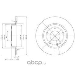Тормозной диск (Delphi) BG3394