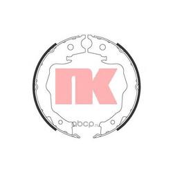 Колодки тормозные барабанные (Nk) 2722777