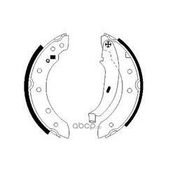 Комплект тормозных колодок (Mintex) MFR400
