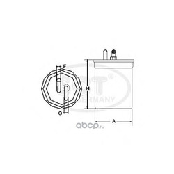 Топливный фильтр (SCT) ST6093