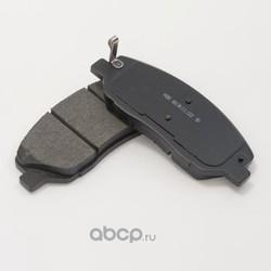 Колодки тормозные дисковые передние к-т (HSB) HP0033