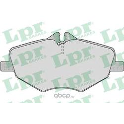 Колодки тормозные, комплект, передние (Lpr) 05P1124