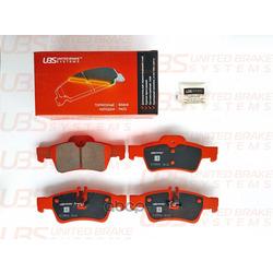 Колодки тормозные дисковые | зад | (UBS) B1109004