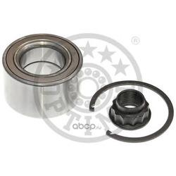 Подшипник ступицы колеса передний ремкомплект с гайкой и стопорным кольцом (Optimal) 981199