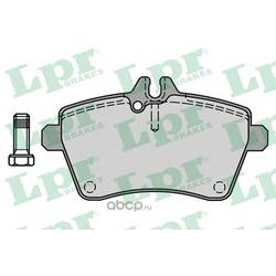Комплект тормозных колодок, дисковый тормоз (Lpr) 05P1242
