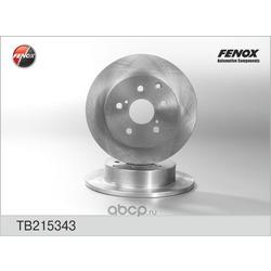 Тормозной диск (FENOX) TB215343