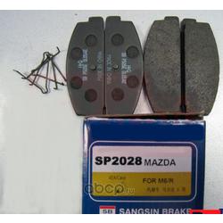"""Колодки тормозные задние """"""""Hi-Q (Sangsin brake) SP2028"""