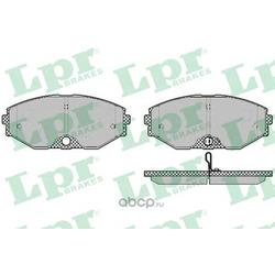 Комплект тормозных колодок, дисковый тормоз (Lpr) 05P1357