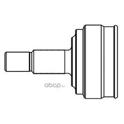 Шарнирный комплект, приводной вал (GSP) 824095