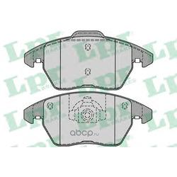Комплект тормозных колодок, дисковый тормоз (Lpr) 05P1248