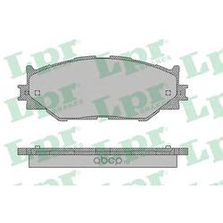 Комплект тормозных колодок, дисковый тормоз (Lpr) 05P1412