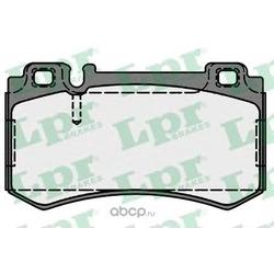 Комплект тормозных колодок, дисковый тормоз (Lpr) 05P1719