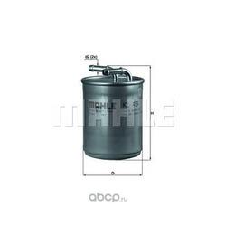 Топливный фильтр (Mahle/Knecht) KL494