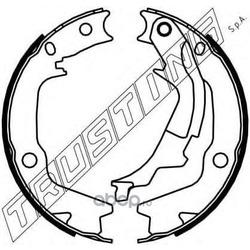 Комплект тормозных колодок, стояночная тормозная система (Trusting) 046222