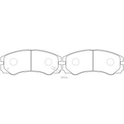 Колодки тормозные дисковые (FIT) FP0579