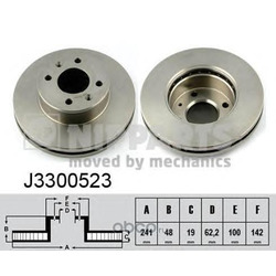 Тормозной диск (Nipparts) J3300523