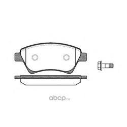 Комплект тормозных колодок, дисковый тормоз (Remsa) 097600