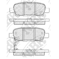 Колодки тормозные дисковые (NiBK) PN2466