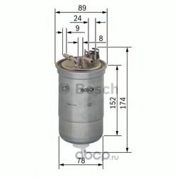 Топливный фильтр (Bosch) 0450906322